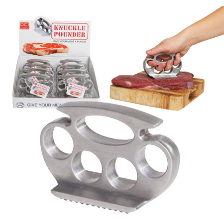 Knuckle Pounder Meat Tenderizer Pounder Metal Gadget