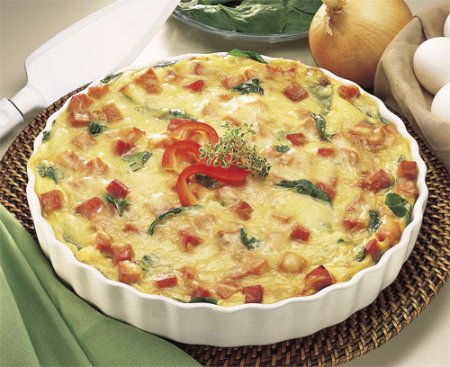 King's Hawaiian Ham and Swiss Florentine Bake