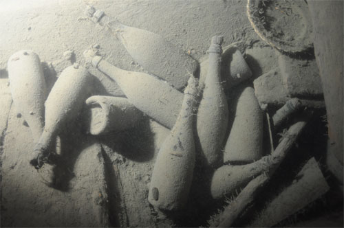Champagne Salvaged From 19th Century Shipwreck