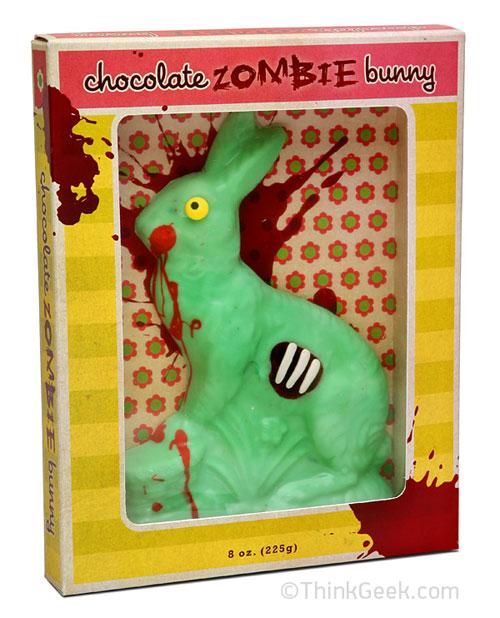 ThinkGeek Chocolate Zombie Bunny