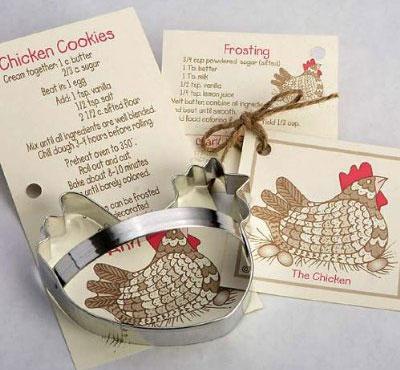 Chicken Cookie Cutter by Ann Clark