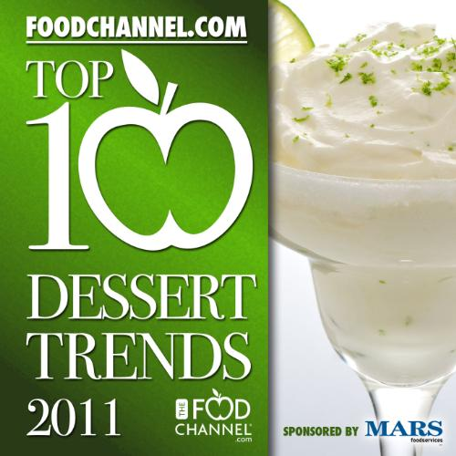 The Food Channel presents its Top Ten Dessert Trends for 2011
