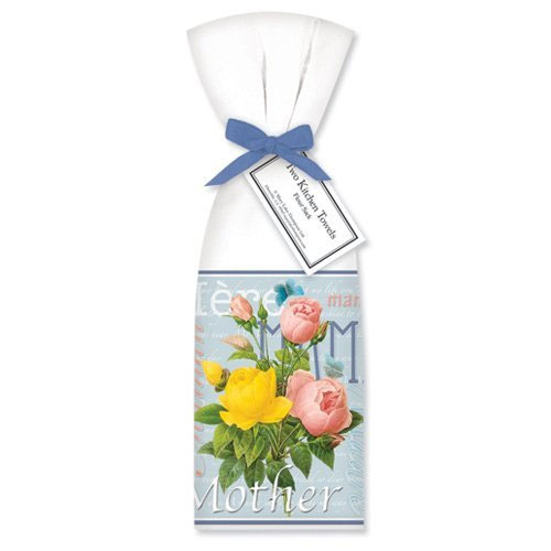 Mother's Day Towel Set by Mary Lake-Thompson Ltd.