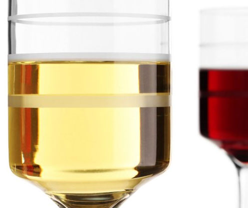 Wine-Trax, the measuring wine glass, set of 2