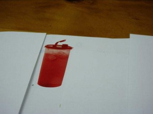Tupperware Super Mega Tumbler Red Only