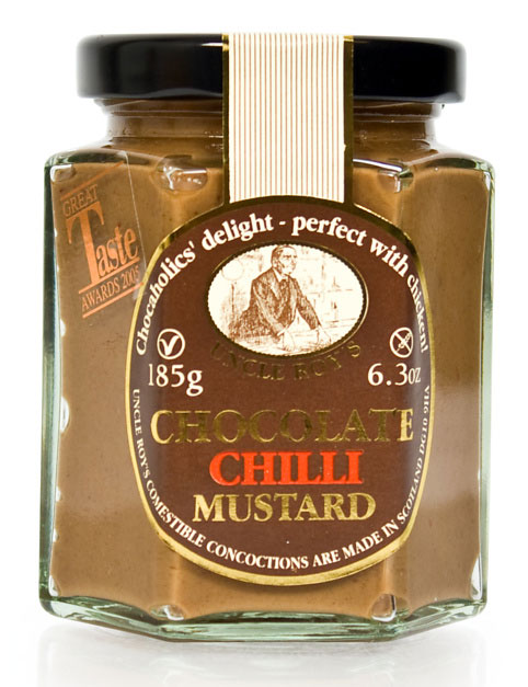 Uncle Roy's Chocolate Chilli Mustard