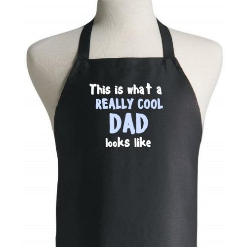 This Is What A Really Cool Dad Looks Like Father's Day Aprons
