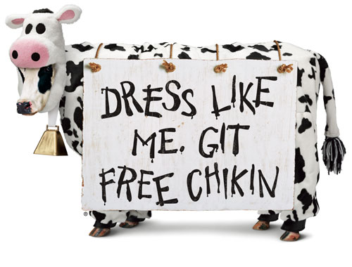 Chick-fil-A Offers FREE Meals to Cow-Dressed Customers on July 8 Seventh Annual Cow Appreciation Day Coming to Chick-fil-A