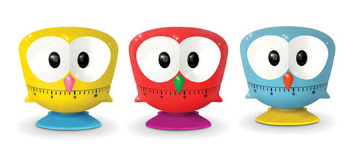 Owl Shaped Cooking Timer by Kikkerland