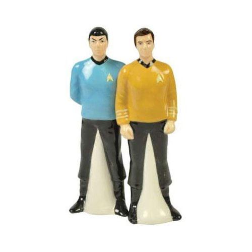 Star Trek Kirk & Spock Salt & Pepper Shaker Set