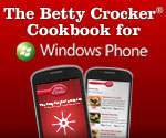 Betty Crocker Cookbook Now Available For Windows Phone