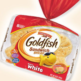New Goldfish Sandwich Bread from Pepperidge Farm Makes a Splash with Kids