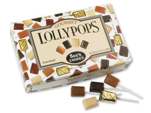 See's Candies celebrates National Lollypop Day on July 20 with free lollypops and a once-in-a-lifetime chance to tour the famous candy factory
