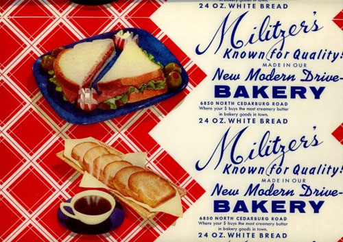 Militzer's Bread Label