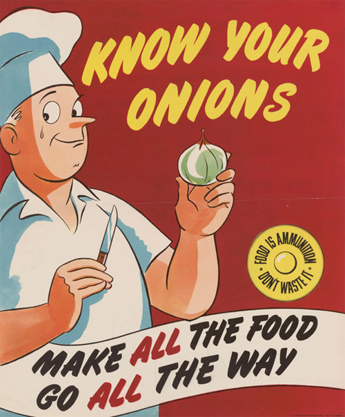 Know Your Onions, Or, Food Is Ammunition--Don't Waste It