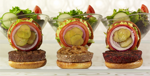 SkinnyLicious Burgers from The Cheesecake Factory's new menu aptly named SkinnyLicious.