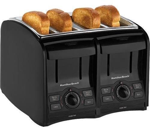 Hamilton Beach 24121 SmartToast 4-Slice Cool Touch Toaster