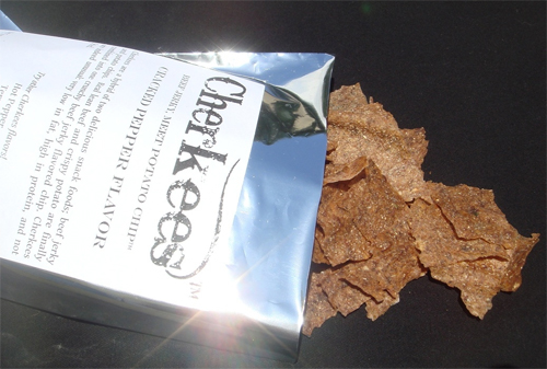 Cherkees: Beef Jerky Potato Chips