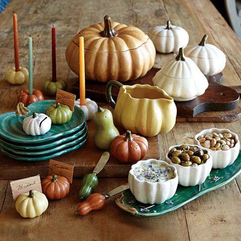 Heirloom Pumpkin Serveware Collection