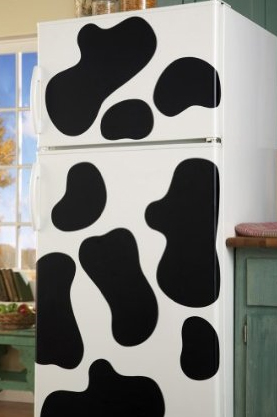 Seeing Cow Spots In The Kitchen