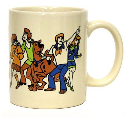 Scooby Doo Zoinks! It's Morning Coffee Mug by ICUP