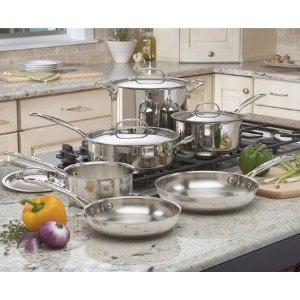 Cuisinart Chef's Classic 10-Piece Cookware Set