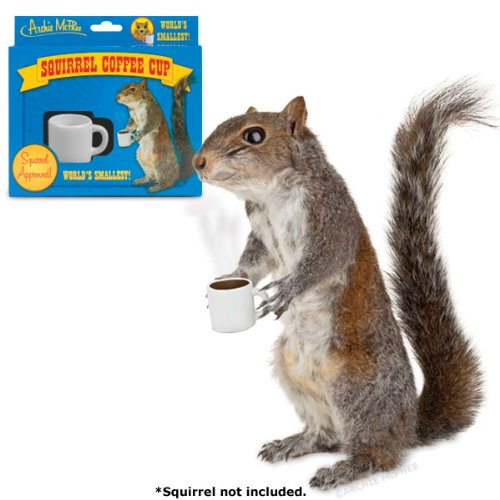 Squirrel Coffee Cup by Accoutrements