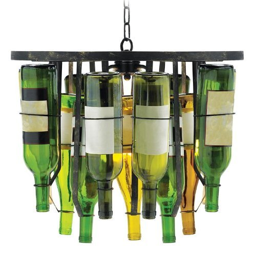 Sterling Industries 2-Light Collector's Pendant Wine Bottle Lighting