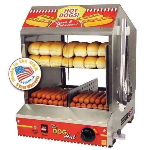 Paragon Hot Dog Hut Steamer and Merchandiser