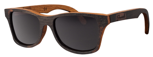 Shwood brand sunglasses made from White Oak Bushmills Irish whiskey barrels.