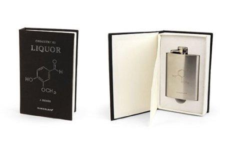 Chemistry 101 Flask Book by Kikkerland