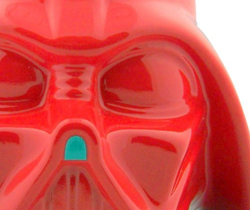 Star Wars Gift Darth Vader Red Valentines Day Gift Head Kitchen Ceramic Candy Cookie Jar