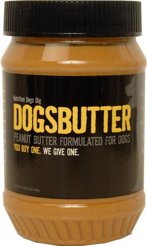 Dogsbutter DOG for DOG Dogbutter Original Peanut Butter with Flaxseed for Dogs