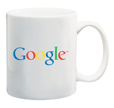 Google Logo Coffee Mug Promotional Novelty 11 Oz by Go Banners