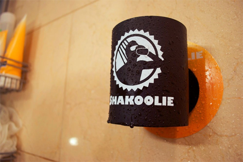 Shakoolie - The Original Shower Beer Koozie by Shakoozie, LLC