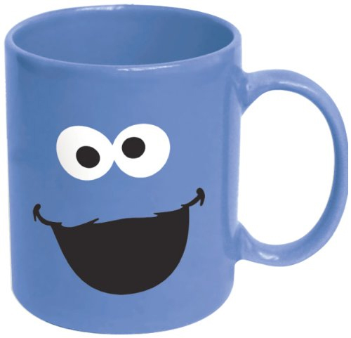 ICUP Cookie Monster Big Face Ceramic Mug