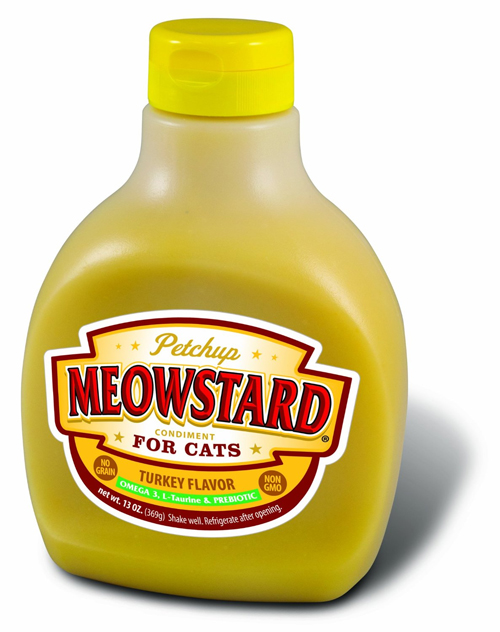 Meowstard Nutritional Condiment Dry Cat Food