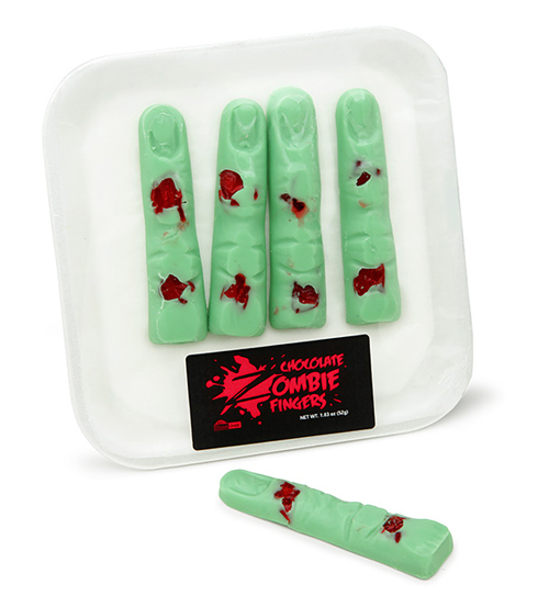 Chocolate Zombie Fingers