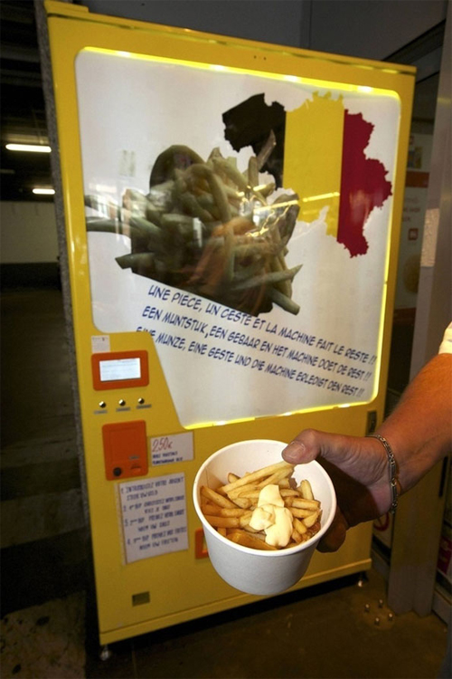 French Fry Vending Machine