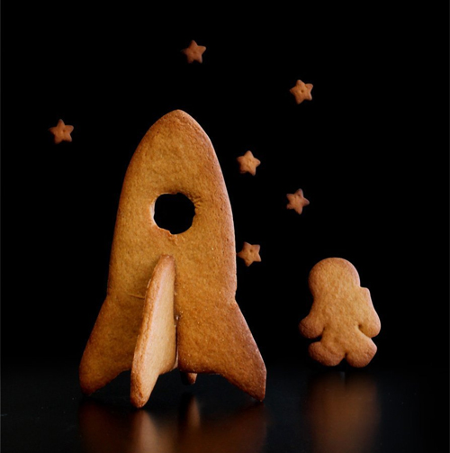 Blast off to eat some space cookies!