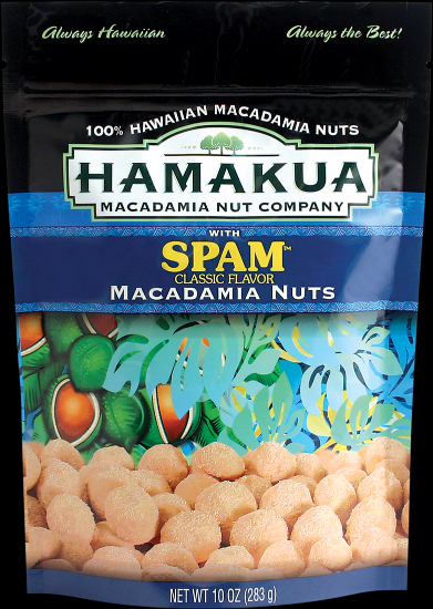 Hamakua Macadamia Nut Company Spam Mac Nuts