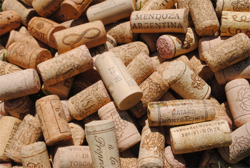 100 Used Wine Corks - All Natural Recycled Wine Corks - Bulk 100% Natural Corks