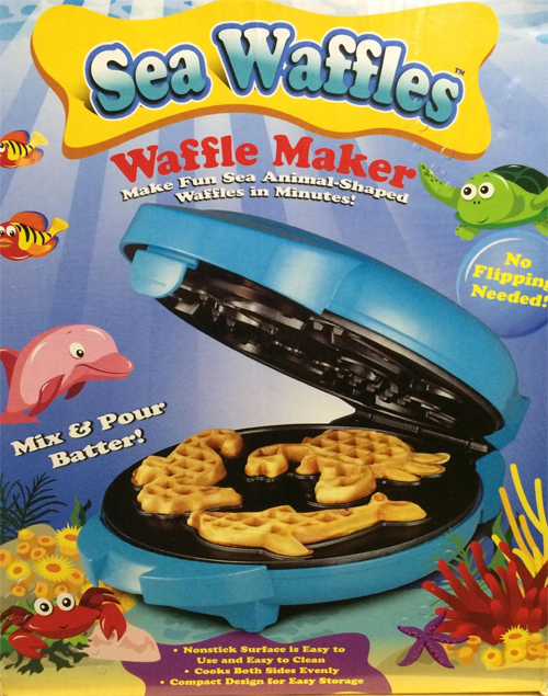 Sea Waffles Waffle Maker