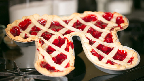 Pi Pie Pan by Pi People for pi-day OR pie-day!