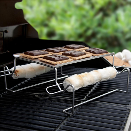 Charcoal Companion SS Smores Roasting Rack CC3112