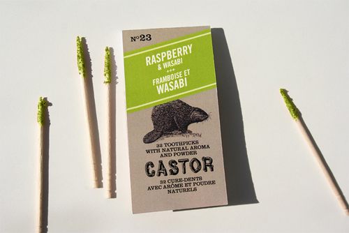 Castor Double Flavored Gourmet Toothpick by PhoodStation