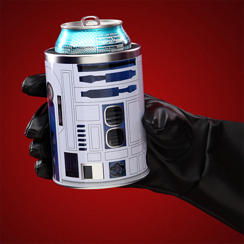 Beer Coozie: Star Wars R2-D2 Can Coolers