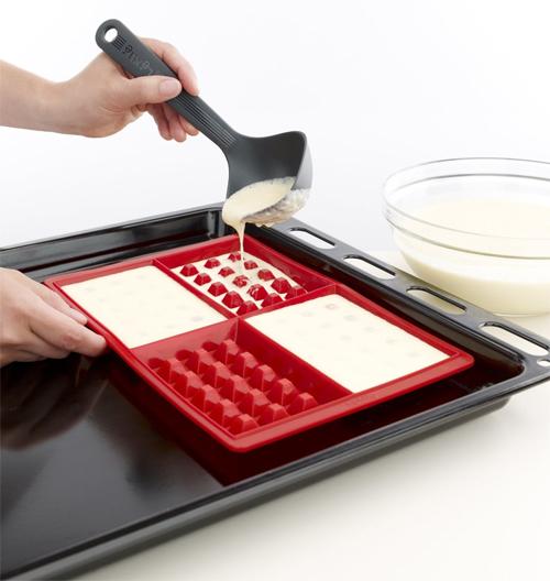 Lekue Silicone Waffle Baker Mold