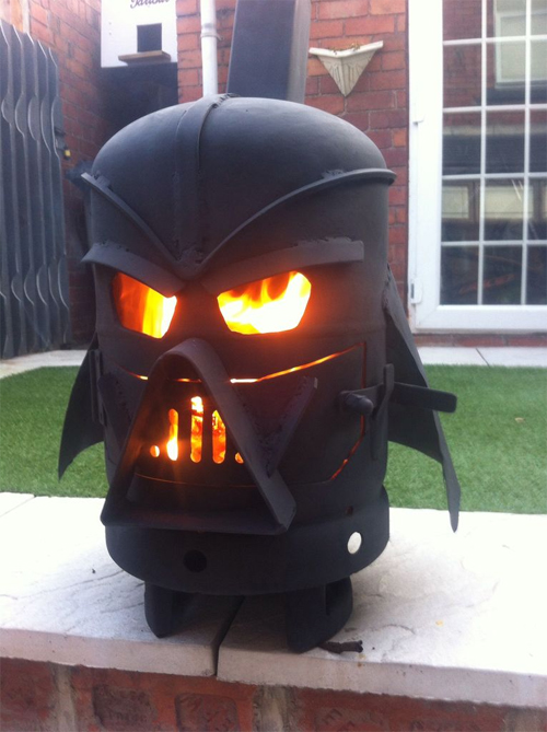 Vader Gas Bottle Log Burner by doddieszoomer on Instructables.com