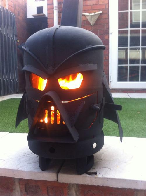 Vader Gas Bottle Log Burner by doddieszoomer on Instructables.com